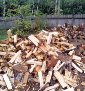 Колотые берёзовые дрова с доставкой