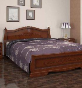 Кровати Карина.Массив сосны