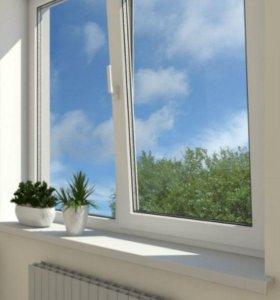 Супер пластиковое окно REHAU