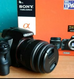 Зеркальный Sony A55+18-55kit