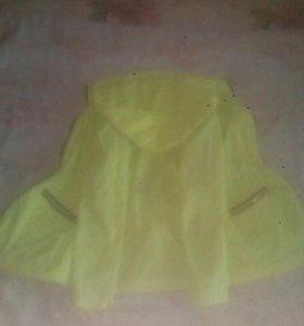Куртка осенняя размер 42 салатовая