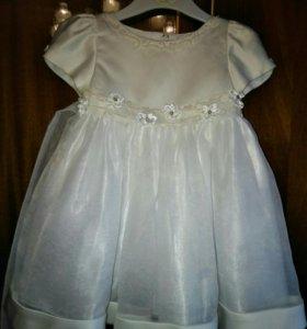 Платье маленькой принцессы на 1 год