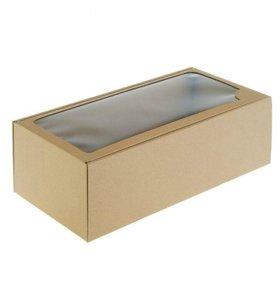 Упаковочная коробка крафт