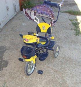 Велосипед - коляска детский