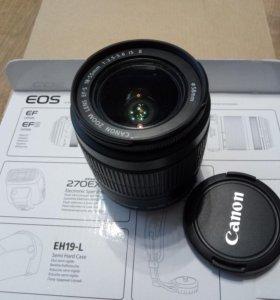 Объектив Canon EF-S 18-55mm F3.5-5.6 IS II