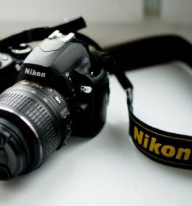 Nikon D60-Kit 18-55mm