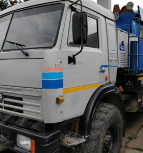 Камаз 43118 передвижная насосная установка 300м3/ч