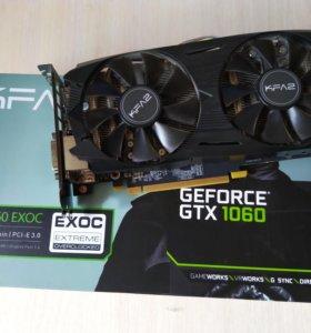 KFA2 GeForce GTX 1060 EX OC Black 6Gb