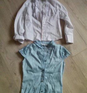 Школьные блузки р.128-140