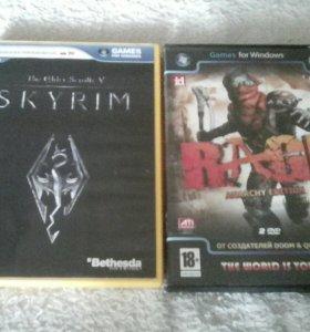 Skyrim и RAGE игры для ПК виды