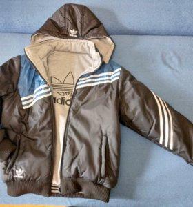 Куртка двусторонняя, демисезонная