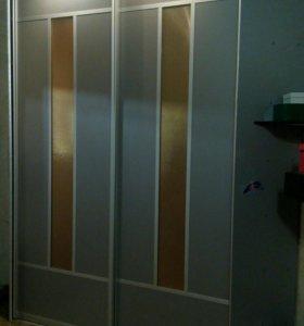 Шкаф купе угловой,высота 257 см