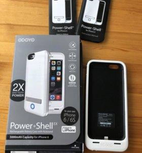 Аккумулятор ODOYO Power+Shell EX для IPhone 6 белы