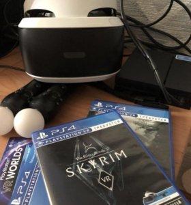 Очки (шлем) VR для PS 4