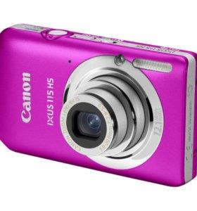 фотоаппарат canon ixus 115 hs розовый