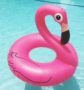 Надувной круг Фламинго большой