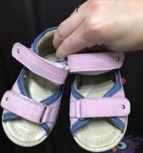 Детские сандалии Зебра 21 и 22