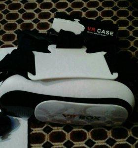 Очки VR BOX, джойстики.