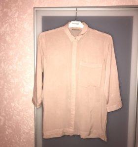 Блуза с карманом Stradivarius