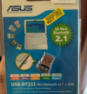 Bluetooth адаптер новый asus