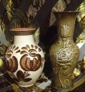 Новые вазы под цветы. Времён СССР
