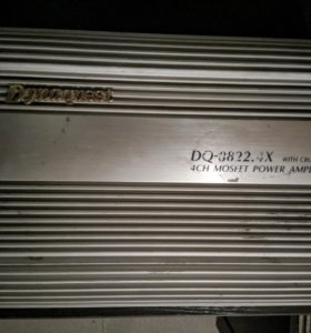 Усилитель Dynaquest DQ-8822.4X