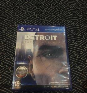 Игра на ps4. Detroit: Стать человеком
