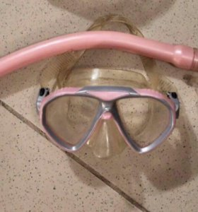 Маска плавательная для девочки