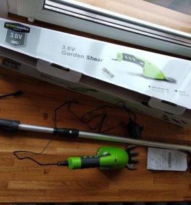 Аккумуляторный кусторез / ножницы Greenworks