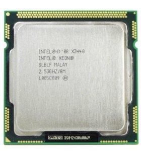 Lga 1156 процессор (intel xeon x3440) +материнка