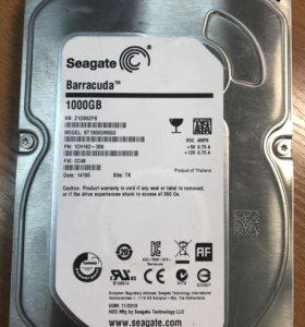 Seagate Barracuda 1000gb