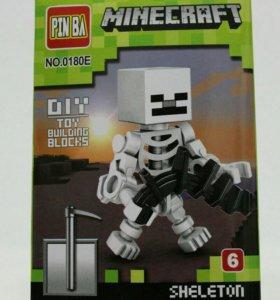 Конструктор Minecraft скелет