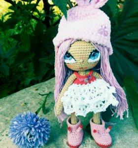 Каркасная кукла игрушка ручной работы