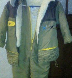 Куртка+комбинезон (нат. мех)