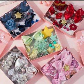 Подарочный набор заколочек для маленьких принцесс