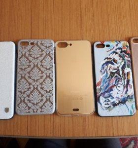 Чехлы айфон 8+