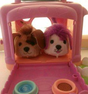 Интерактивные игрушки. Furry Frenzies