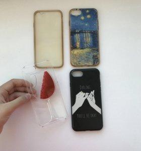 Чехлы на айфон 7‼️