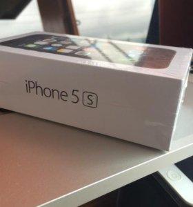 iPhone 5S 16GB SPACE GRAY НОВЫЙ