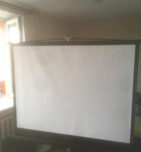 Проекционный экран Draper Consul на штативе