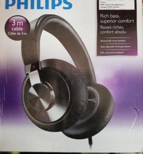 Наушники Philips SHP6000 черный