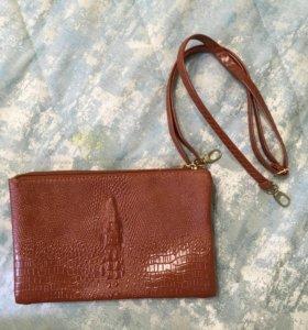 Клач-сумка со сменной лямкой