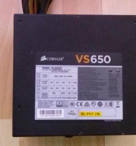 Блок питания Corsair VS 650W