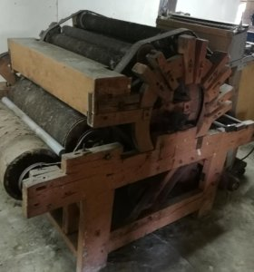Машина для расчесывания шерсти