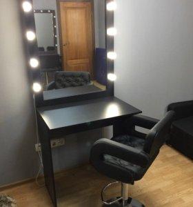 Гримерный стол Зеркало для макияжа. Зеркало 💡