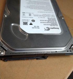 Жёсткий диск HDD SATA 250 Gb б/у