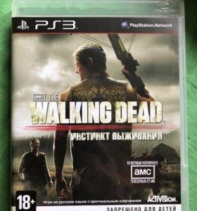 Игра Walking dead ps3