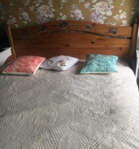 Кровать IKEA двуспальная