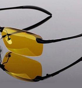 Продам солнцезащитные и очки для ночного вождения