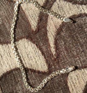 Серебренная цепочка на руку